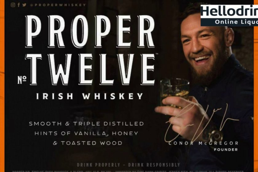 Conor McGregor launches Proper Twelve Irish Whiskey